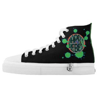 Happy Rebel Kickabouts Printed Shoes
