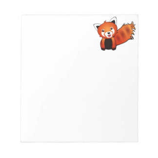 Happy Red Panda Notepad