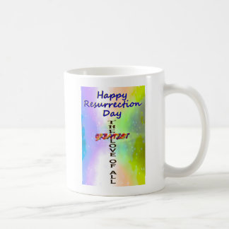 Happy Resurrection Day Coffee Mugs