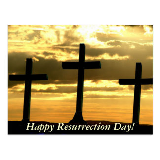 Happy Resurrection Day! Postcard