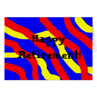 Happy Retirement! Greeting Card