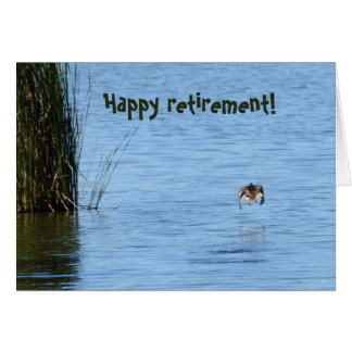 Happy retirement! greeting card