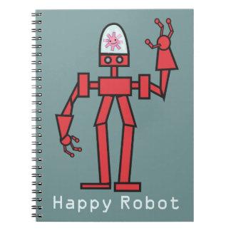 Happy Robot Notebook