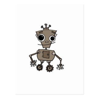 Happy Robot Postcard