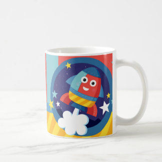 Happy Rocket Coffee Mug