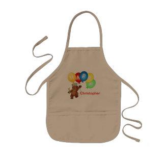Happy Royal Bears Art Kids' Apron