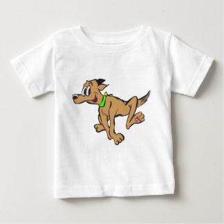 Happy Running Dog Customizable Jersey T-shirt