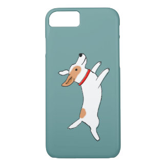 Happy Running Jack Russell Terrier - Cute Dog iPhone 7 Case