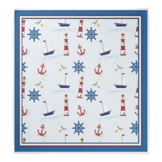 Happy Sailing Nautical Bandana