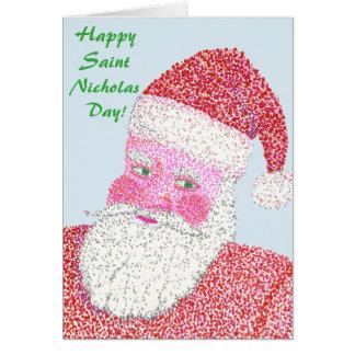 Happy Saint Nicholas Day Holiday Cards