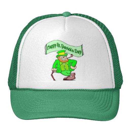 Happy Saint Patricks Day Mesh Hats