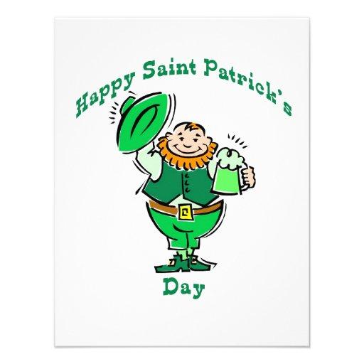 Happy Saint Patrick's Day Invites