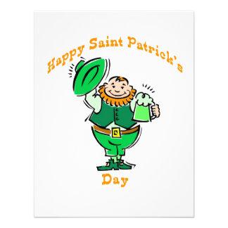 Happy Saint Patrick's Day Custom Announcement