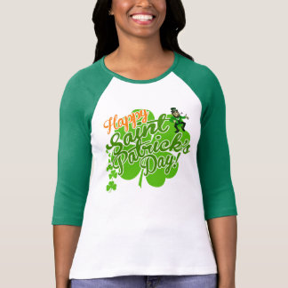 Happy Saint Patrick's Day Leprechaun T-Shirt