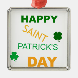 Happy Saint Patrick's Day Ornaments