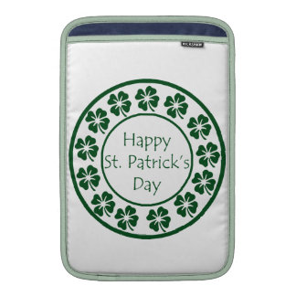 Happy Saint Patricks Day Sleeve For MacBook Air