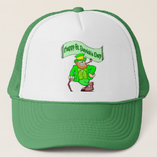 Happy Saint Patricks Day Trucker Hat