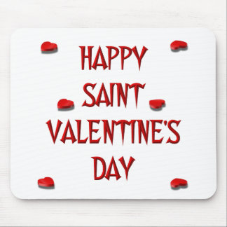 Happy Saint Valentine's Day (Candy Boxes) Mousepad