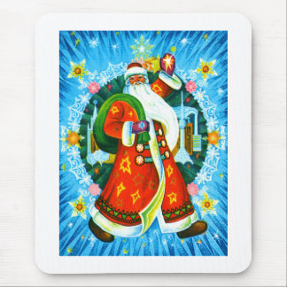 Happy Santa Mouse Pad