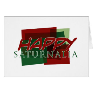 Happy Saturnalia 02 Card