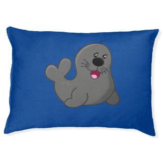 Happy seal pet bed