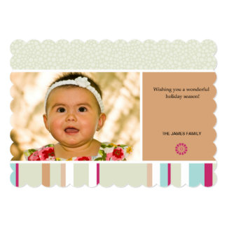 happy season 13 cm x 18 cm invitation card