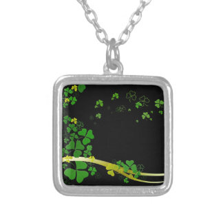 Happy Shamrock Personalized Necklace