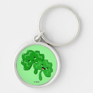 Happy Shamrocks Keychain