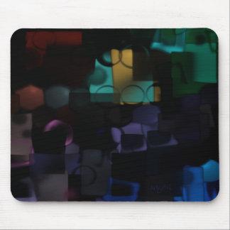 Happy Shapes 3 mousepad