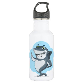 Happy shark 532 ml water bottle