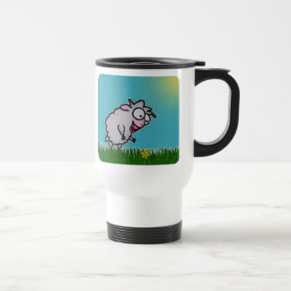 Happy Sheep Travel Mug