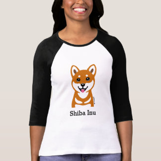Happy Shiba Inu cartoon Shirt