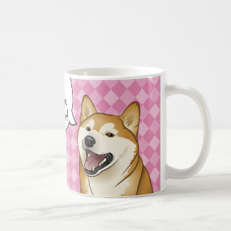 "Happy Shiba Inu Japanese ""Dogs are Love"" Coffee Mug"