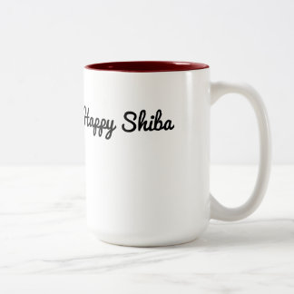 Happy Shiba Mug
