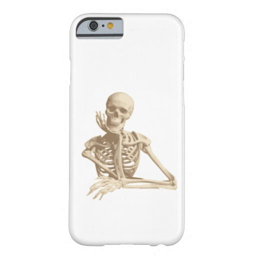 Happy Skeleton Barely There iPhone 6 Case