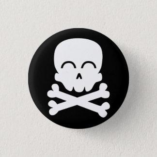 Happy Skull 3 Cm Round Badge