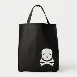 Happy Skull Tote Bag