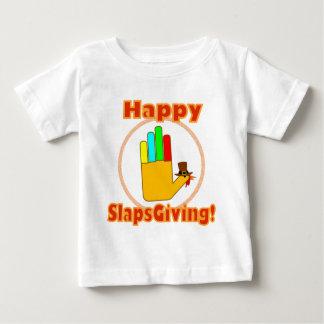 Happy Slapsgiving Design Baby T-Shirt