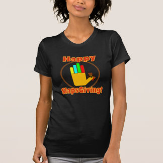 Happy Slapsgiving Design T Shirts