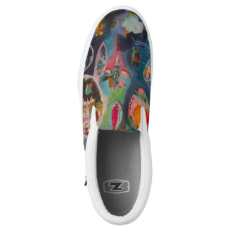 Happy Slip on Shoes Printed Shoes