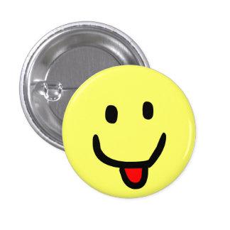 Happy Smile 3 Cm Round Badge