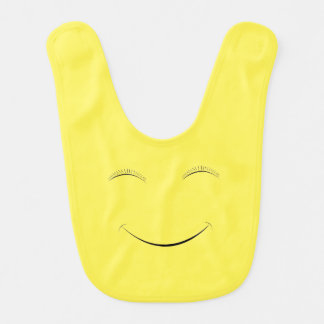 Happy smiley bib