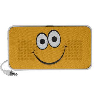 Happy smiley face cartoon Doodle speakers