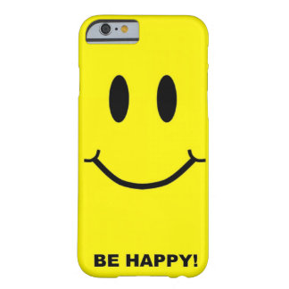 Happy smiley face barely there iPhone 6 case