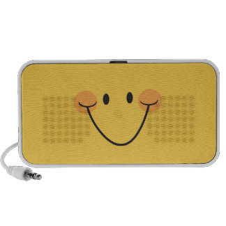 Happy smiley face custom doodle speakers