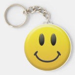 Happy Smiley Face Key Chains