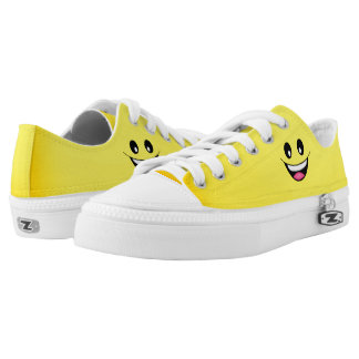 Happy Smiley Face Low Tops
