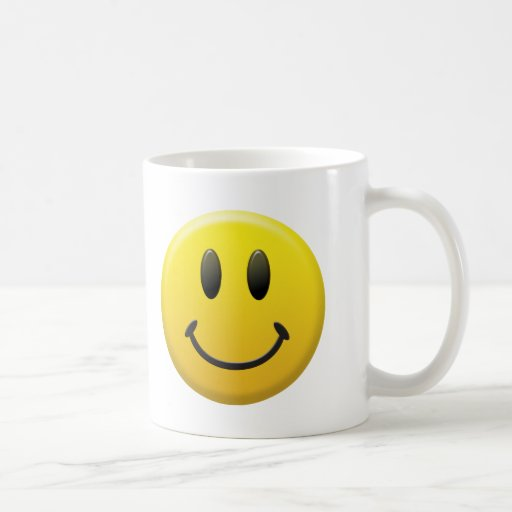 Happy Smiley Face Coffee Mugs