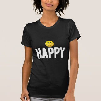 Happy Smiley Tag W T-Shirt