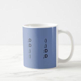Happy smileys coffee mug